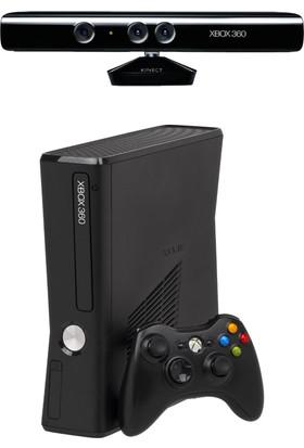 Microsoft Xbox 360 Slim 250Gb + Xbox 360 Kinect - Teşhir Ürün