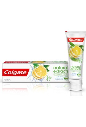 Colgate Diş Macunu Natural Extracts Limon Ferah Nefes 75 ml