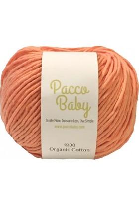 Pacco Baby Yavruağzı %100 Organik Pamuk El Örgü İpi