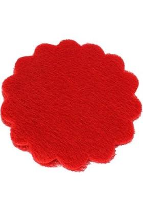 Yavuz Örümcek Tül Açık Kese Kırmızı (22cm*22 cm) ( 25 Adet )