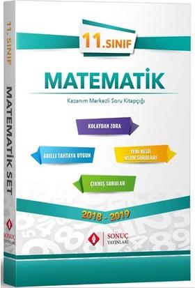 Sonuç 11. Sınıf Matematik Kazanım Merkezli Soru Bankası Seti Yeni
