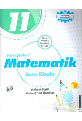 Palme Yayıncılık 11. Sınıf Fen Liseleri Matematik Soru Kitabı - Mehmet Şahin - Mehmet Fatih Özdemir
