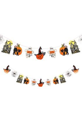 PartiBulutu Halloween Figürlü Uzar Süs