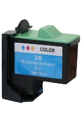 Prıntpen Lexmark No 26 10N0026 Remanufactured Renkli Kartuş