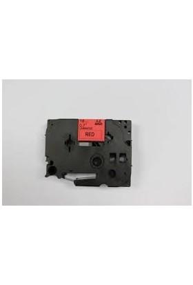 Brother P Touch Tz Tape 18Tze441 Kırmızı Etikete Siyah 18Mm 8M