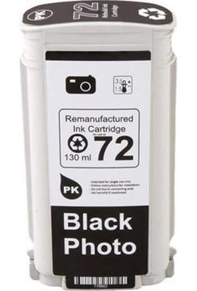 TNR HP Muadil Kartuş Pigment İnk No:72 C9370A Siyah