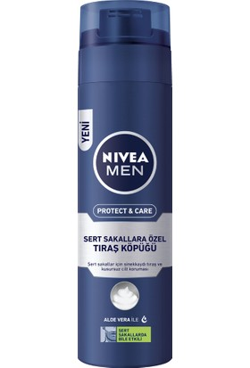 Nivea Protect & Care Nemlendirici Tıraş Köpüğü 200 ml