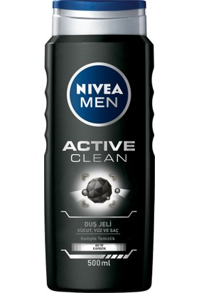 Nivea Active Clean Duş Jeli 500Ml Erkek