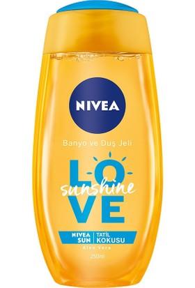 Nivea Sunshine Love Banyo Ve Duş Jeli 250Ml