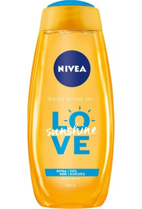 Nivea Sunshıne Love Banyo Ve Duş Jeli 500Ml