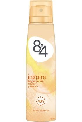 8X4 İnspire Sprey Deodorant 150Ml Kadın