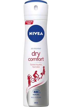 Nivea Dry Comfort Sprey Deo 150 ml Kadın
