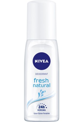 Nivea Fresh Natural Pump Sprey Deodorant 75Ml Kadın