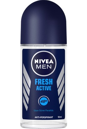 Nivea Fresh Roll-On Deodorant 50Ml Erkek