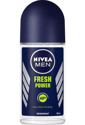 Nivea Fresh Power Roll-On Deodorant 50Ml Erkek