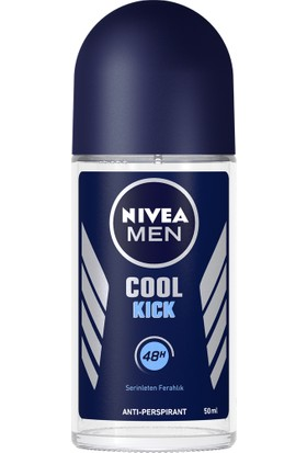 Nivea Cool Kick Roll-On Deodorant 50 ml Erkek