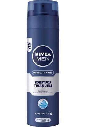 Nivea Protect & Care Tıraş Jeli 200Ml