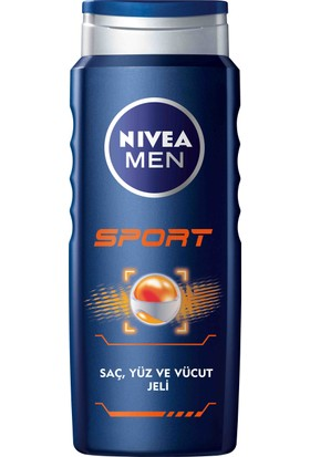 Nivea Sport Duş Jeli 500Ml Erkek