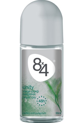 8X4 Unıty Roll-On Deodorant 50Ml Kadın