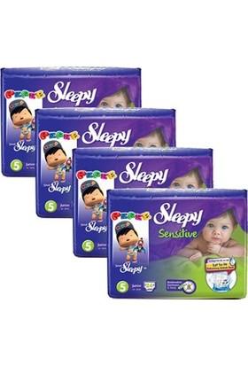 Sleepy Sensitive Bebek Bezi 5 Beden Junior Jumbo Paket 24X4 96 Adet