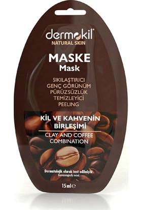 Dermokil Kil ve Kahve İçerikli Yüz Maskesi 15 ml