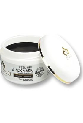 Arleva Soyulabilir Siyah Maske 100 ml