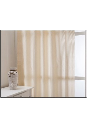 Evsa Home Lüx Saten Krem Güneşlik - 50x100 cm