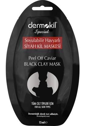 Dermokil Soyulabilir Havyarlı Siyah Kil Maskesi 15 Ml