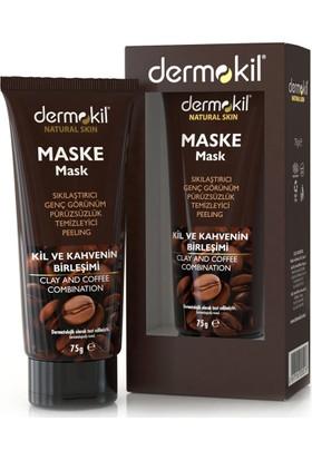 Dermokil Sıkılaştırıcı Kil ve Kahve İçerikli Maske 75 Ml