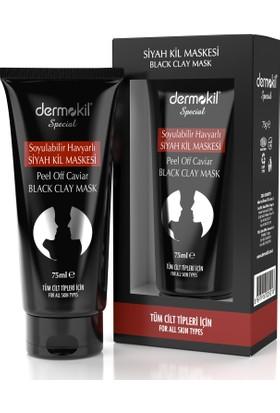 Dermokil Soyulabilir Havyarlı Siyah Kil Maskesi 75 Ml