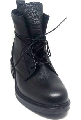 Shop And Shoes 007-1493026 Kadın Bot Siyah