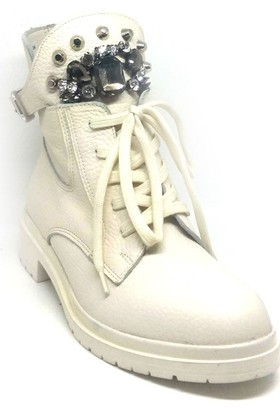 Shop And Shoes 007-1493019 Kadın Bot Kemik