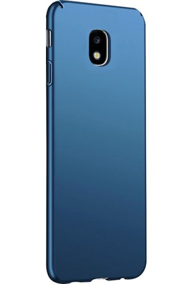 Ehr. Samsung Galaxy J3 Pro J330 Ultra Lüx Sert Rubber Kılıf - Lacivert