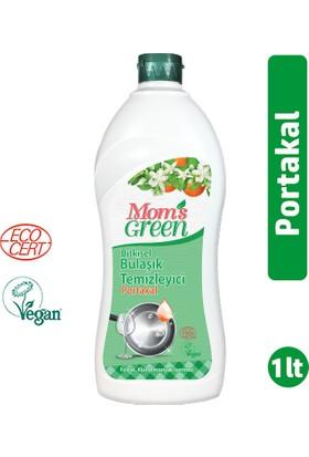 Mom's Green Bitkisel Elde Bulaşık Temizleyici Portakallı 1000 ml