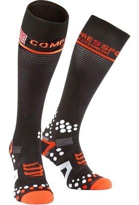Compressport Fsv211 99T Full Socks V2.1 Uzun Çorap Siyah