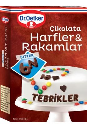 Dr.Oetker Çikolata Harfler ve Rakamlar 60 Gr