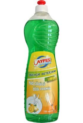 Ayfes Bulaşık Deterjanı Limon 750 ml 24 Lü