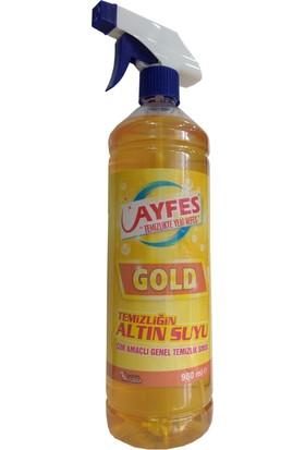 Ayfes Gold Genel Amaçlı Temizlik Sıvısı - Leke Çıkarıcı 980 ml 14 Lü