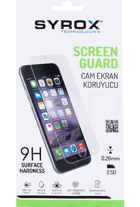 Syrox Samsung Galaxy J2 Prime / Grand Prime Plus Cam Ekran Koruyucu