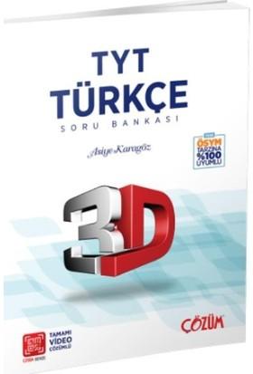 Çözüm Yayınları TYT 3D Türkçe Soru Bankası - Asiye Karagöz