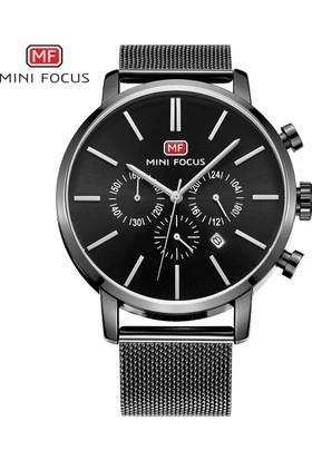 MF Mini Focus Mf0023G Hasır Kordan Özel Tasarım Erkek Kol Saati