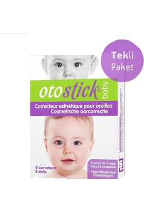 Otostick Baby Kepçe Kulak Düzeltici Bant Tekli Paket