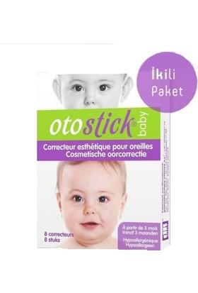 Otostick Baby Kepçe Kulak Düzeltici Bant 2'li Paket