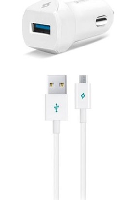 Ttec 2CKQC01M Speedcahrger QC 3.0 Universal Araç Şarj Aleti + Micro USB Kablo
