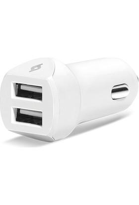 Ttec 2CKS02UM Speedcharger Duo Araç Şarj Cihazı Çift USB 3.1A Micro USB Kablolu