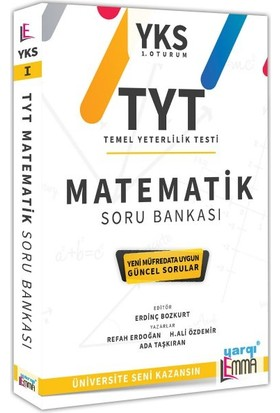 Yargı Lemma Yayınları YKS TYT Matematik Soru Bankası