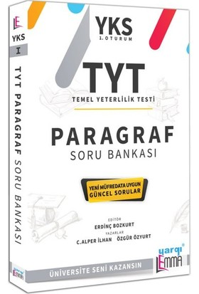 Yargı Lemma Yayınları YKS TYT Paragraf Soru Bankası