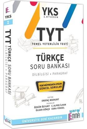 Yargı Lemma Yayınları YKS TYT Türkçe Soru Bankası