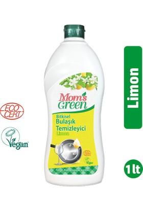 Mom's Green Bitkisel Elde Bulaşık Temizleyici Limonlu 1000 ml