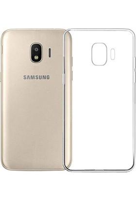 Case 4U Samsung Galaxy J2 Core Kılıf Şeffaf Silikon Arka Kapak